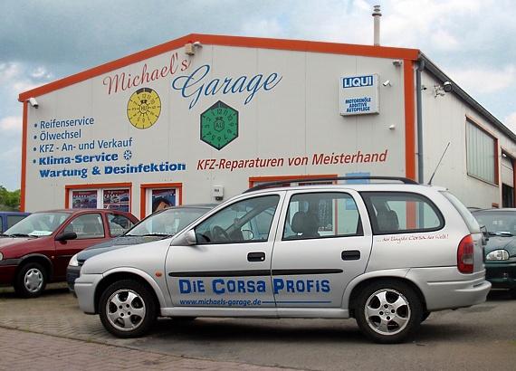 Michael 39 s garage in jever service rund um ihr auto for Garage des taxis g7